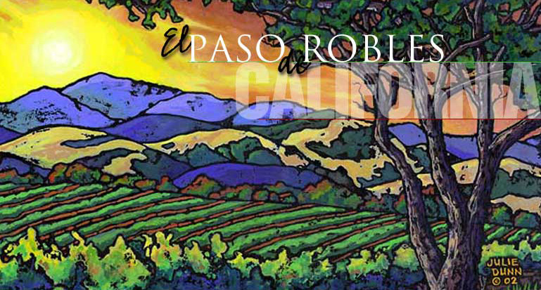 Paso Robles, California (Julie Dunn Illustration)